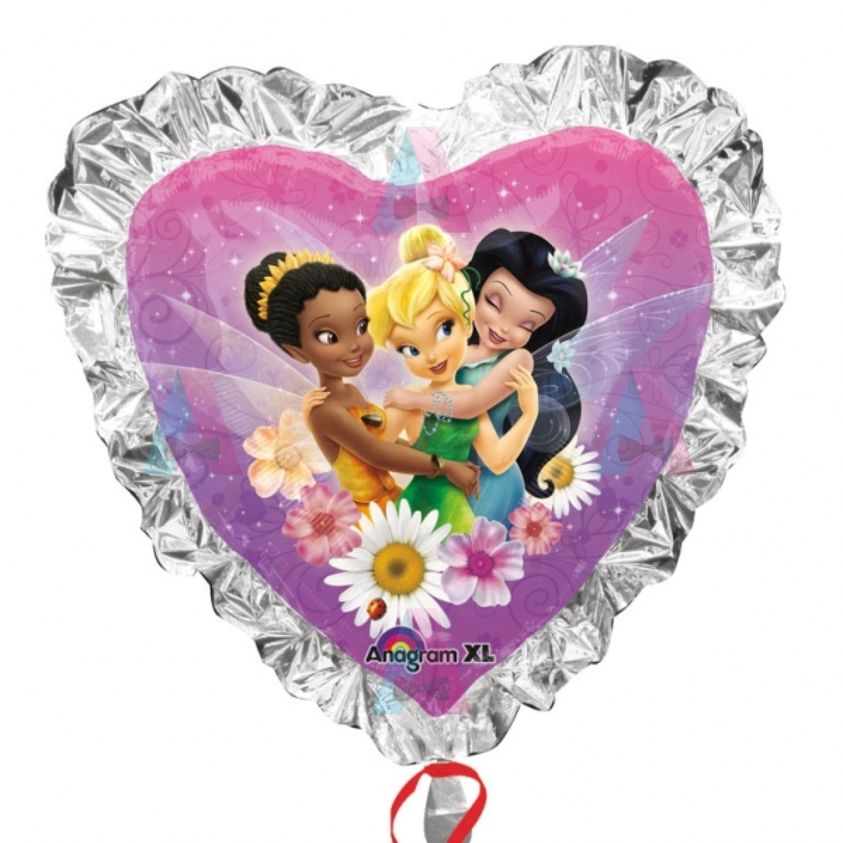 Balon Folie Metalizata Tinkerbell SuperShape Inima 71 Cm